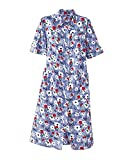 National Garden Melodies House Coat, Cherry Print, Large - Misses, Womens