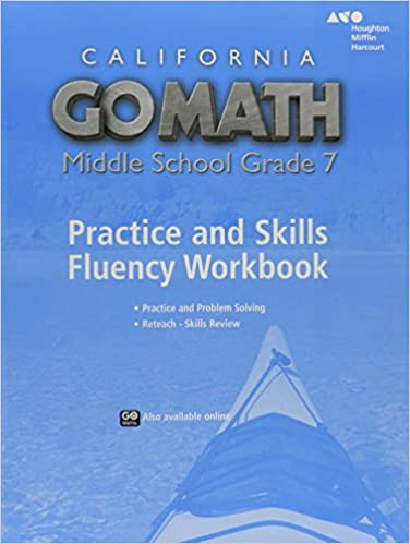 Go math california practice fluency workbook grade 7 holt california practice fluency workbook grade 7 1st edition fandeluxe Gallery