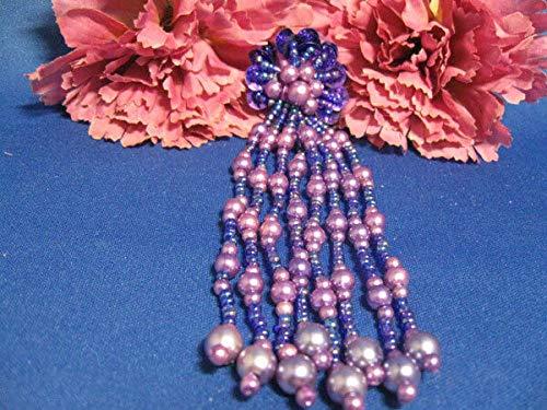 Unique Sequin Beaded Pearled Epaulet Applique ()