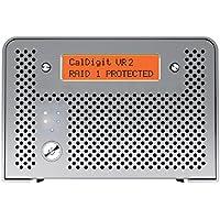 CalDigit VR2 4TB Professional RAID USB 3.0, FW800, eSATA (VR2-2B-4000-US)