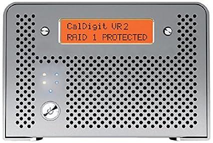 CalDigit VR2 10TB Professional RAID USB 3.0, FW800, eSATA(VR2-2B-10000-US)