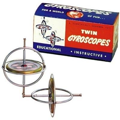 Originial TEDCO Gyroscope Twin Pak: Toys & Games