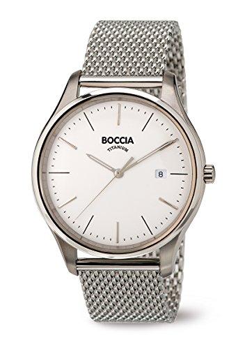 3587-03 Boccia Titanium Mens Watch