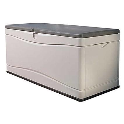 Amazoncom Lifetime Deluxe 130 Gallon Deck Storage Box Cell