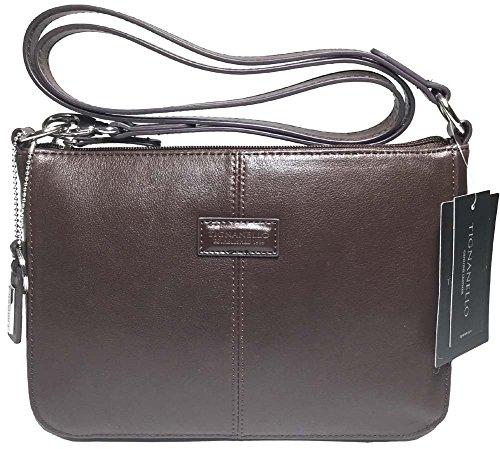 Tignanello Western Cross Body Brown/Dark Brown T58305A (Tignanello Brown Leather)