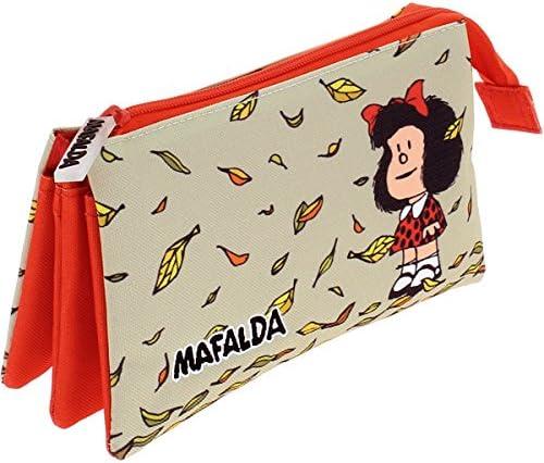 Grafoplas 37540605 Mafalda Estuches, 22 cm, Multicolor: Amazon.es: Oficina y papelería