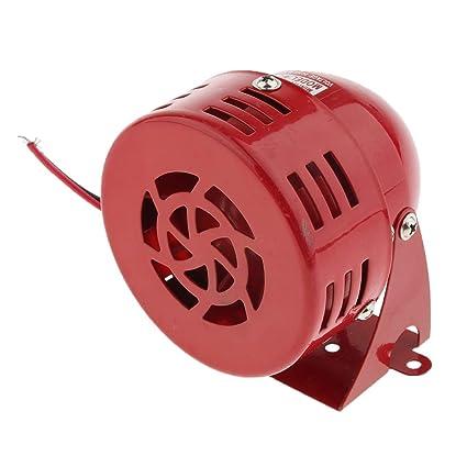 FLAMEER Sonido de Alarma Motor Sirena de Zumbador Productos de Laboratorios Materiales de Ciencia - 24V