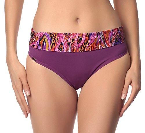 Antie Parte Inferior del Bikini Para Mujer Kaledonia Violeta