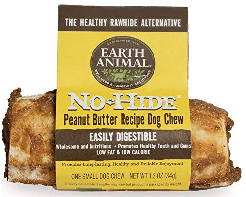 Earth Animal No Hide Dog Chew Treat Peanut Butter Bones 4