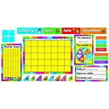 Year Around Calendar Bulletin Board Set - 17 x 22 Inches