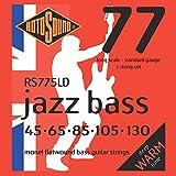 Rotosound Monel Flatwound Bass Guitar Strings - Standard, 5 String