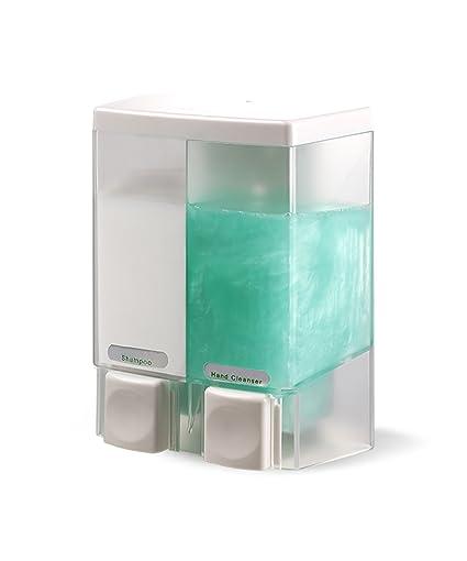 Dispensador de jabón WOLOSZ Manual Dispensador de jabón de pared Shampoo Dispensador de jabón de mano