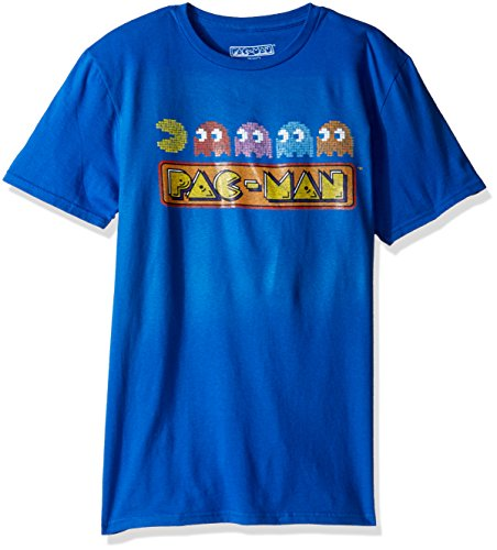 pac-man-mens-short-sleeve-graphic-t-shirt-royal-medium