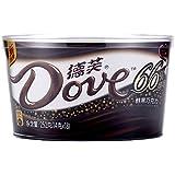 德芙 醇黑巧克力66% 可可 (碗装)252g