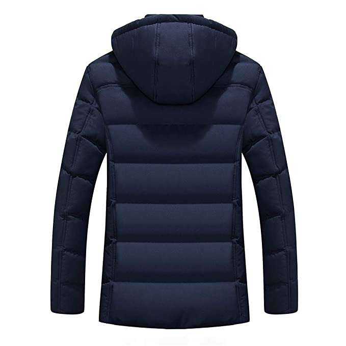 Amazon.com: Winter Jacket Men Warm Coat Sportswear Outwear ...
