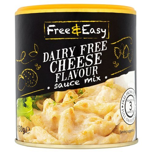 (Free & Easy Dairy Free Cheese Sauce Mix Glutenfree Vegan 4.6oz )
