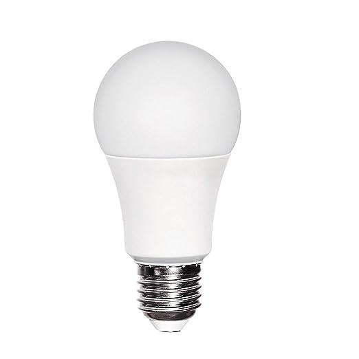 Bombilla LED A60 10W (equivalente a 60W) Luz neutra (4200K) no dimmable