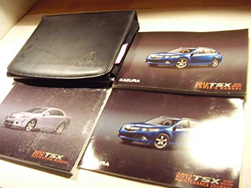 2012 acura tsx owners manual - 1
