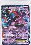 Pokemon Jumbo DEOXYS EX Promo Card #53/116 LARGE SIZED!