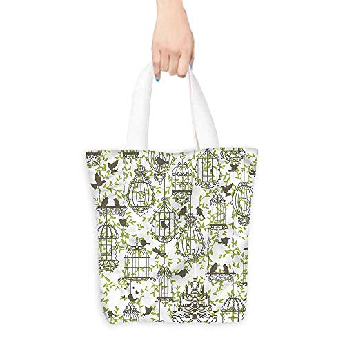 canvas laptop bag Lovely Birdcages and Ivy.14