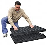 Work Platform Matting, 1/2 In. H, 3 ft. L