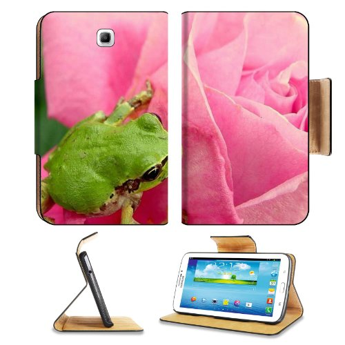 Japan Animals Little Green Frog Samsung Galaxy Tab 3 7.0 Flip Case Stand Magnetic Cover Open Ports Customized Made to Order Support Ready Premium Deluxe Pu Leather 7 12/16 Inch (190mm) X 5 5/8 Inch (117mm) X 11/16 Inch (17mm) MSD Galaxy Tab3 Cases Tab_7.0 three Accessories Graphic Background Covers Designed Model Folio Sleeve HD Template Designed Wallpaper Photo Jacket Wifi 16gb 32gb 64gb Luxury Protector