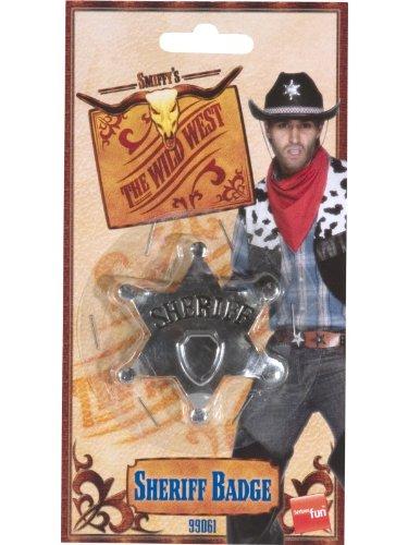 Sheriff Star Badge Costume (Uk Police Officer Costume)