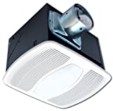 What Are the Dimensions of a California King Air King AKF80LS Energy Star Deluxe Quiet Series Bath Fan with Light, 80-CFM