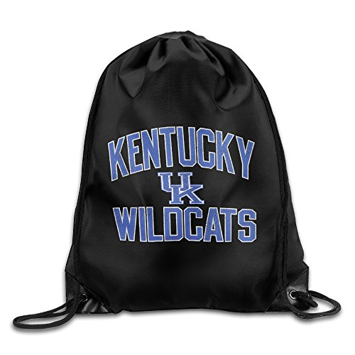 Kentucky Wildcats Drawstring Backpack Bag White