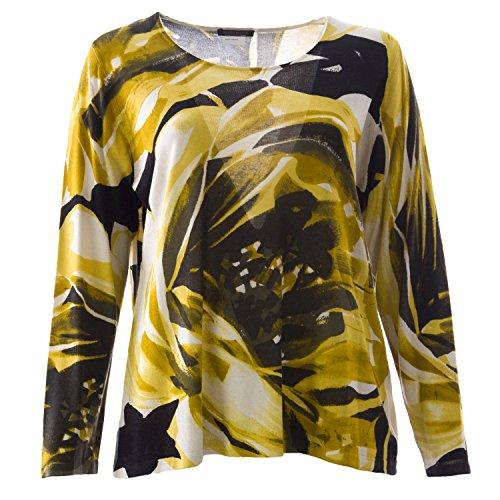 marina-rinaldi-womens-arca-lightweight-sweater-large-yellow-multicolored