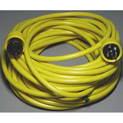 Marinco PH6599 Marine Phone Cordset (50-Feet, Yellow)