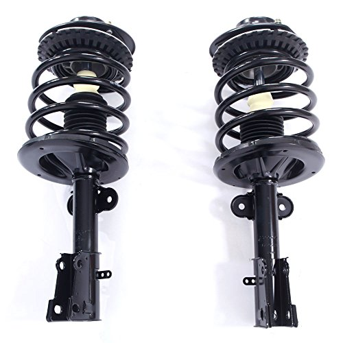 Complete Front Left & Right Strut Shock Coil Spring Assembly for Chrysler 2001 2002 2003 2004 2005 2006 2007 Town & Country & 2001-2003 Voyager | Dodge 01-07 Caravan & Grand Caravan