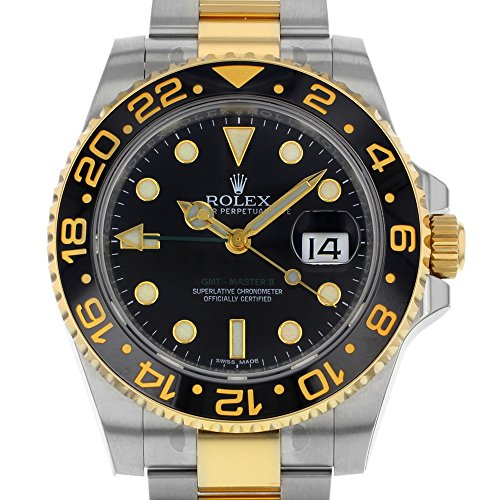 Amazon Com New Rolex Gmt Master Ii Stainless Steel And 18k Yellow