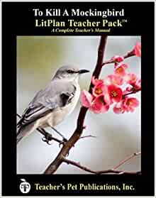 Amazon.com: To Kill A Mockingbird LitPlan - A Novel Unit Teacher Guide With Daily Lesson Plans