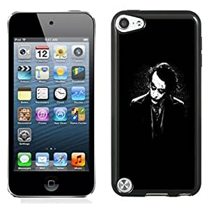 NEW Unique Custom Designed iPod Touch 5 Phone Case With The Joker Batman Black White_Black Phone Case