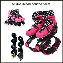 Bounceblade Rollerblade hybrid pink fits EURO 35-38, US kids 3.5-6, women's 4-6