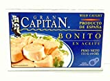 Gran Capitan Bonito en Aceite / Tuna Fish in Oil 4oz 3 Pack