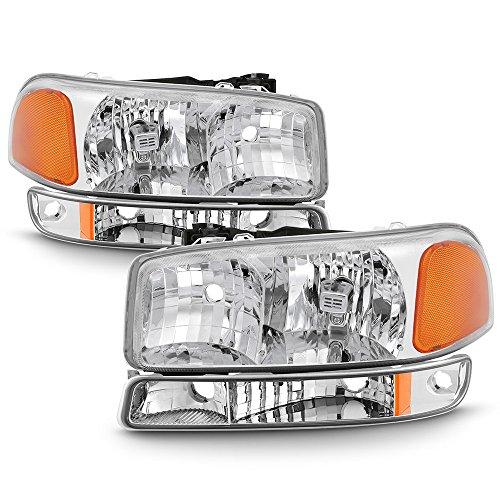 01 gmc sierra crystal headlights - 3
