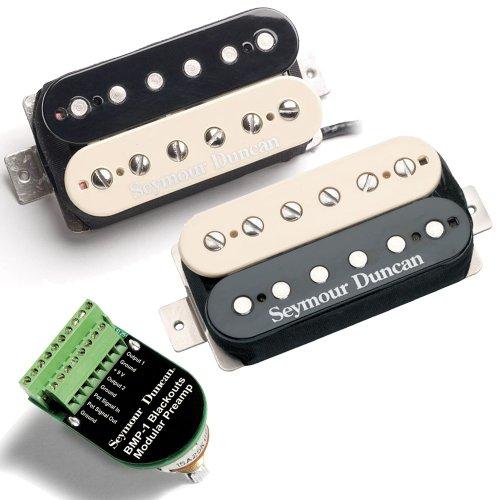 - Seymour Duncan Blackouts Modular Coil Pack/Preamp Set Zebra
