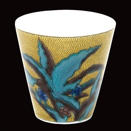 KUTANI YAKI(ware) Sake Cup Omoto by Kutani