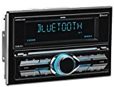 Sound Storm DDML28B Car Receiver - Bluetooth / MP3 / USB, AM/FM Radio (No CD/DVD), Detachable Front Panel