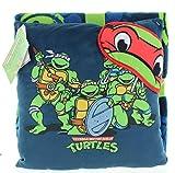 Jay Franco Teenage Mutant Ninja Turtles Travel Throw Blanket, Pillow and Eye Mask Set (Teenage Mutant Ninja Turtles)