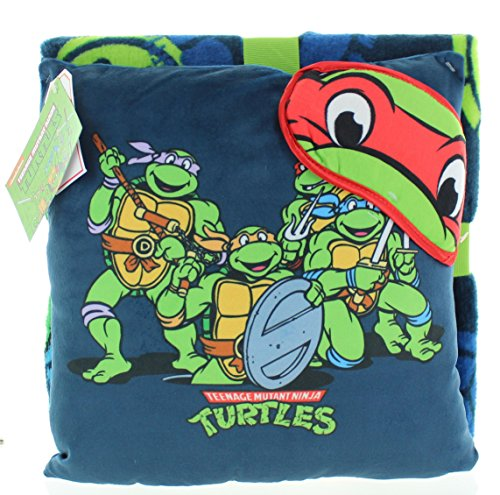 ninja turtle blanket pillow - 5