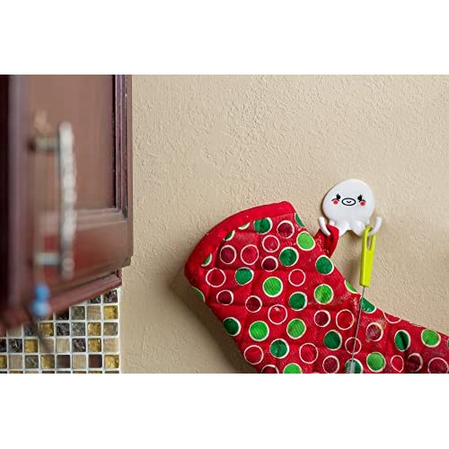 85%OFF Drunk Octopus Self Adhesive Kitchen, Bath, Bag, and Towel Hooks 4 pack (8 hooks total)