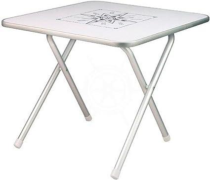 Table Pliante Alum Carré 60x60 Amazon Fr Sports Et Loisirs