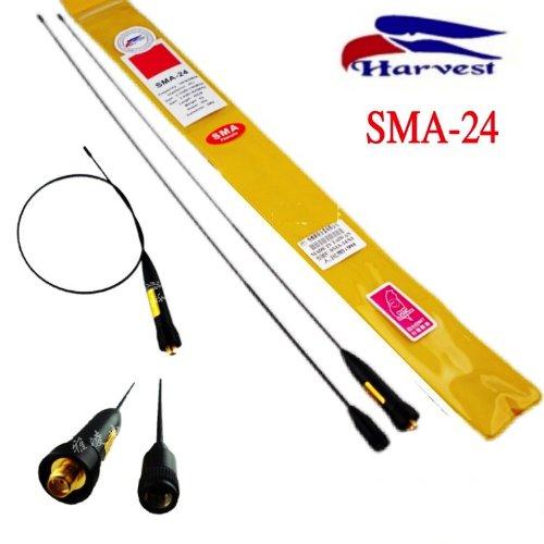 Harvest SMA24 dual band Flexible VHF/UHF Dualband Antenna (SMA-Female)