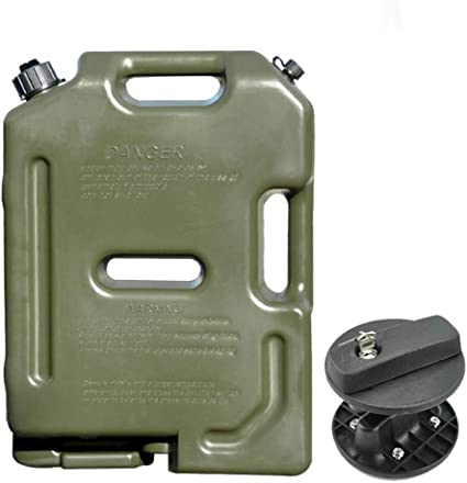 Jerry Can 10 litre Green Metal Fuel tank Container Diesel or Petrol 563474
