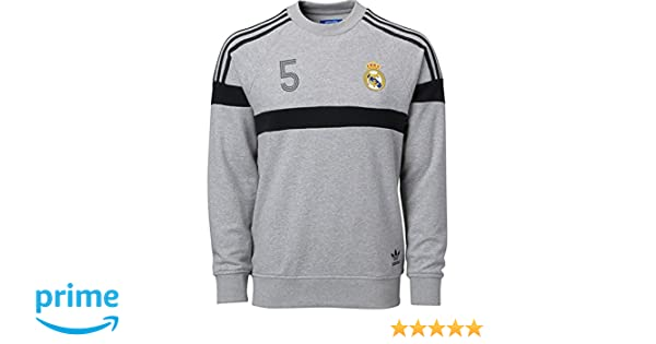 7c1a3dba2 Amazon.com   adidas Real Madrid Soccer Crewneck Sweatshirt (XS)   Sports    Outdoors