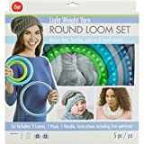 Boye Artsi2 BOY3702102001 Loom Round Set Light Weight Yarn