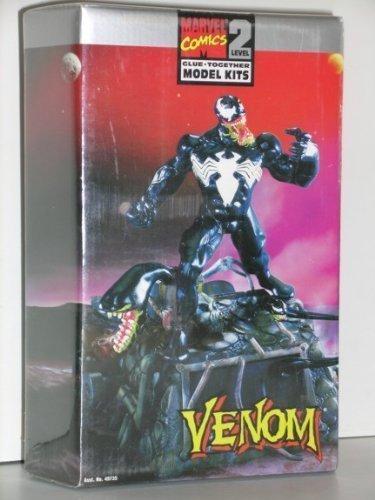 Marvel Comics Snap Together Model Kits Venom (Series 1) (1996) (Silver Bust Surfer)